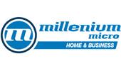 Millenium micro logo